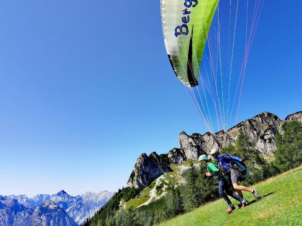 Achensee Tandem Paragliding - geht easy mit Marco Hollaus