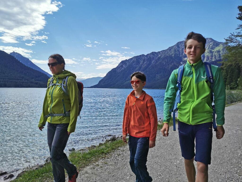 Direkt am Achensee wandern - der Gaisalmsteig von Pertisau zur Gaisalm