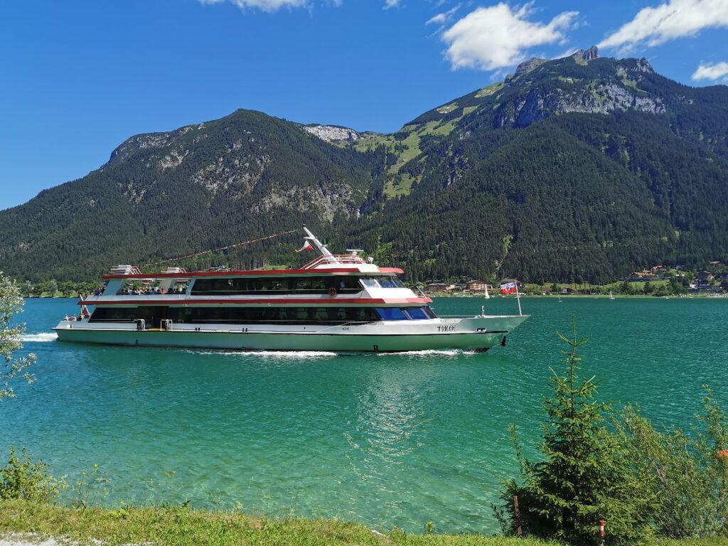 Den See erleben: Mit der Achenseeschiffahrt