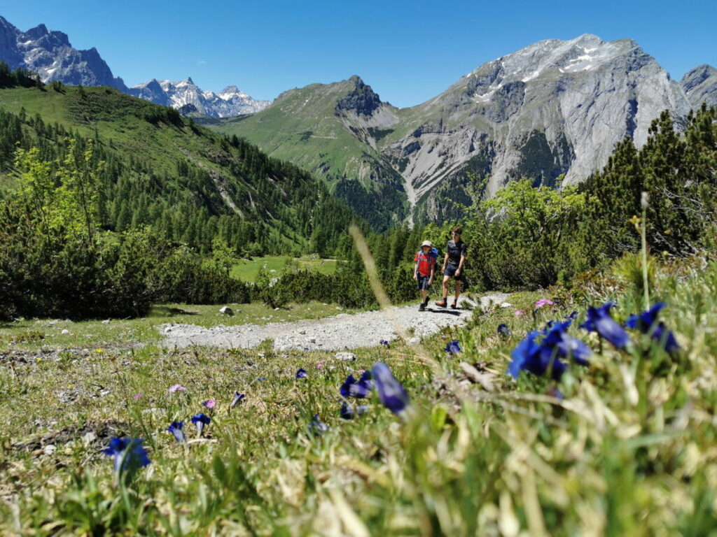 Das Karwendel rund um den Achensee ist ein Eldorado zum Wandern