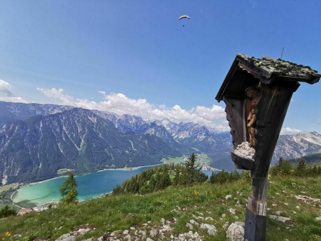 Die Achensee Wanderung - von der Bergstation Rofan zur Dalfazalm