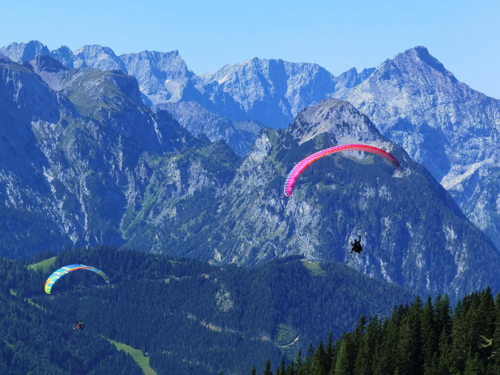 Tandem Achensee - mit gewaltigem Blick ins Karwendel