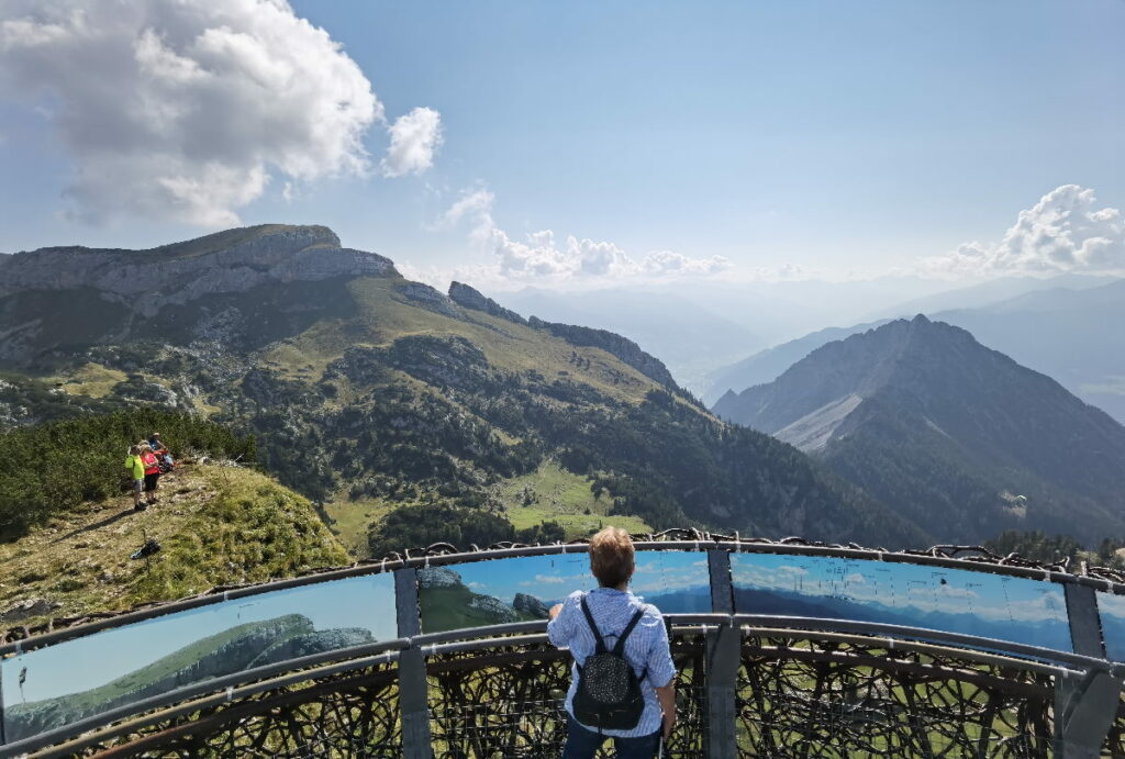 Suchst du so einen tollen Ausblick? Über die Berge und den Achensee? Ich zeige dir die besten Plätze!