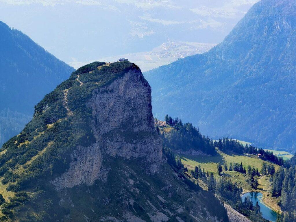 Achensee Berge samt Panoramakanzel: Leichte Wanderung auf den Gschöllkopf