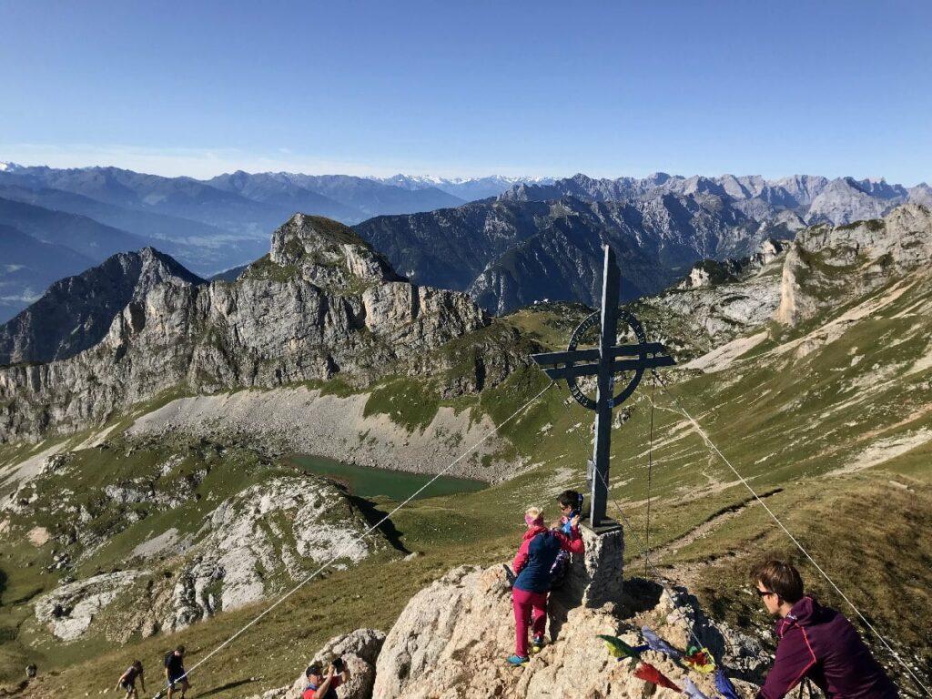 Achensee Berge mit besonders viel Aussicht: Die Rofanspitze (2259 Meter)