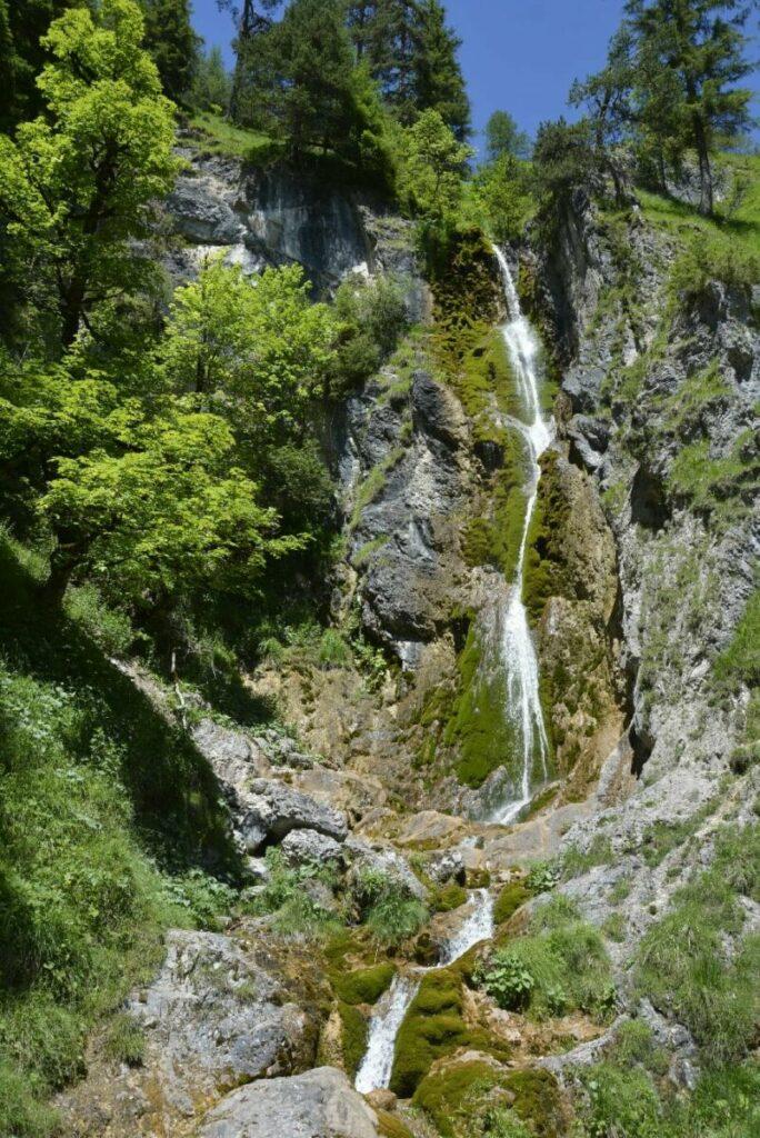 Relativ unbekannter Wasserfall am Achensee - Stod Wasserfall in Achenkirch