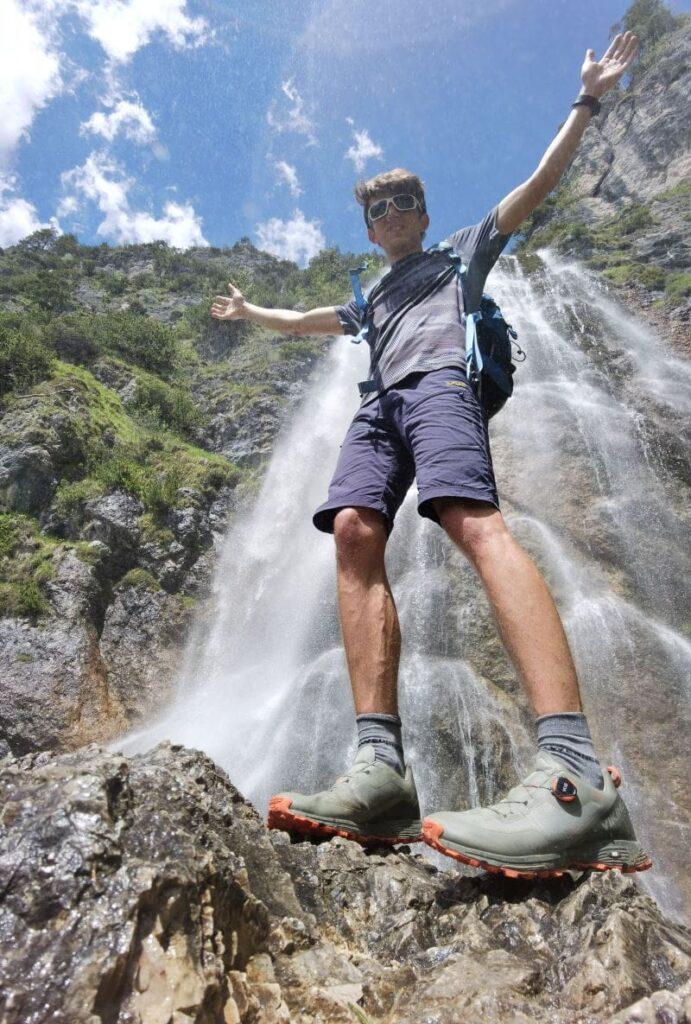Achensee Wasserfall Wanderungen - bitte nur mit guten Wanderschuhen!